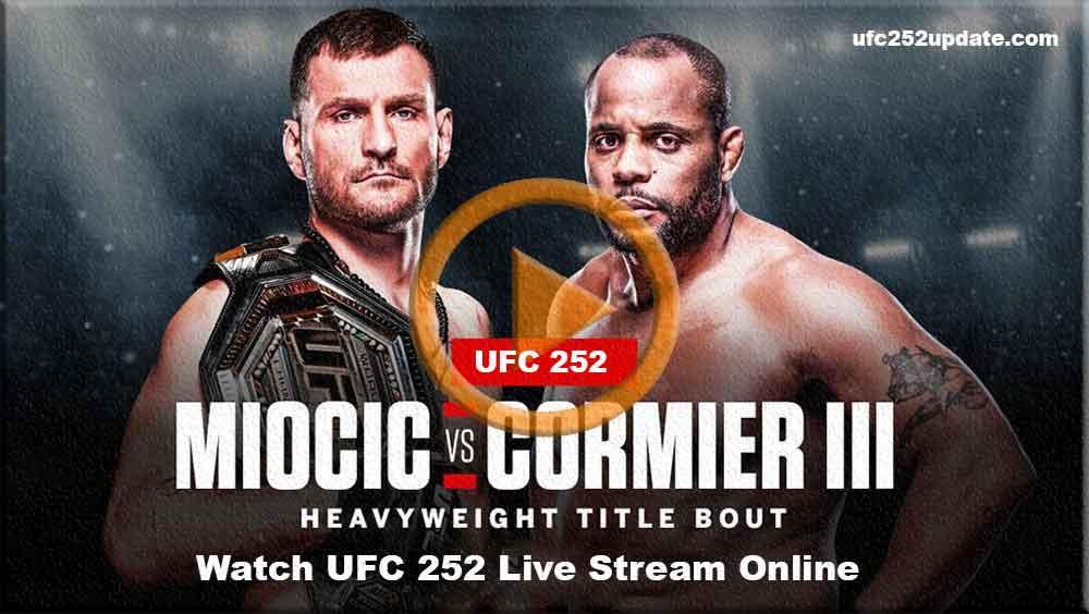 Watch UFC 252 live Stream: Miocic vs Cormier Reddit 2020 Free Live ...