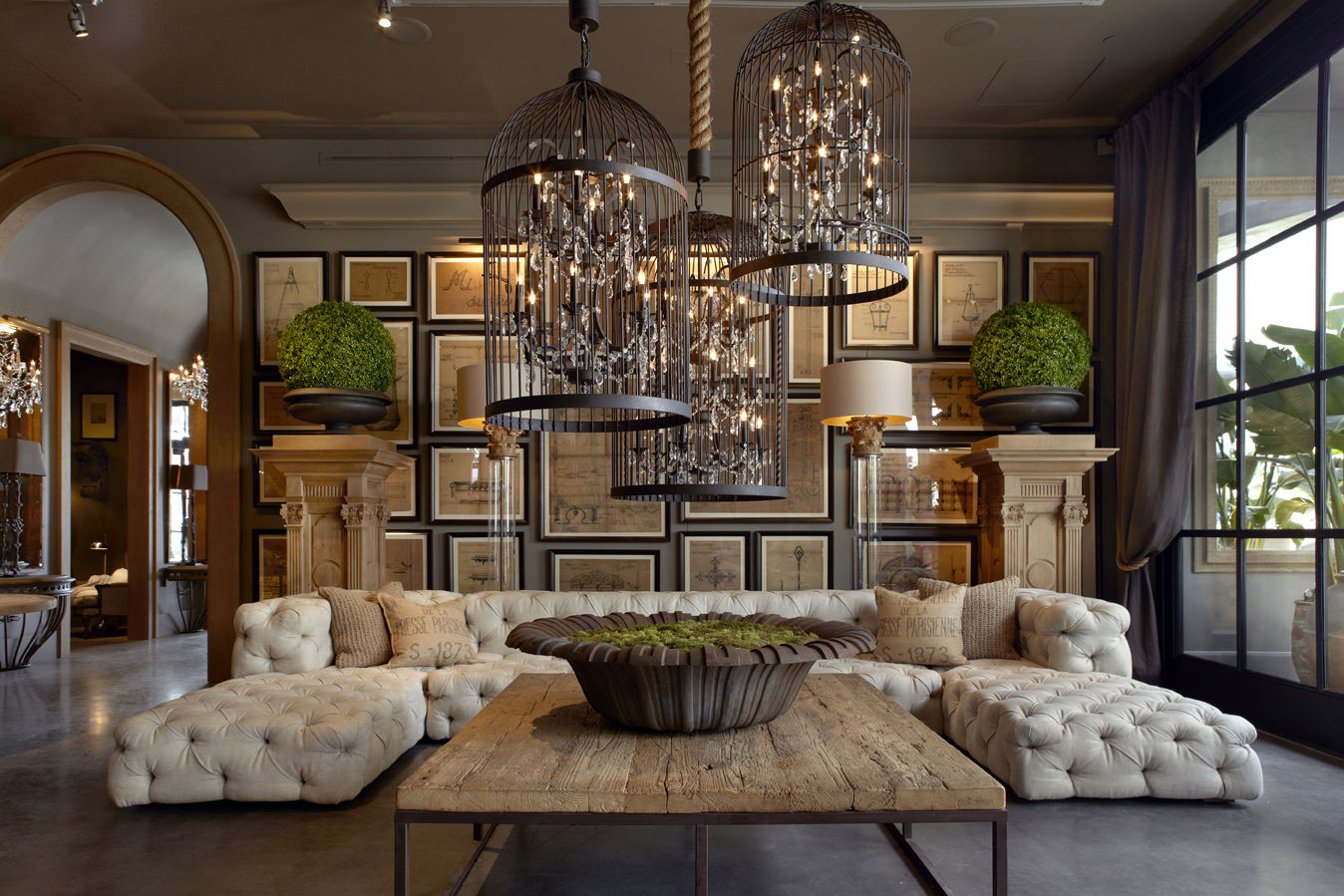 <p>Restoration Hardware opens to the public Friday, June 15.</p>