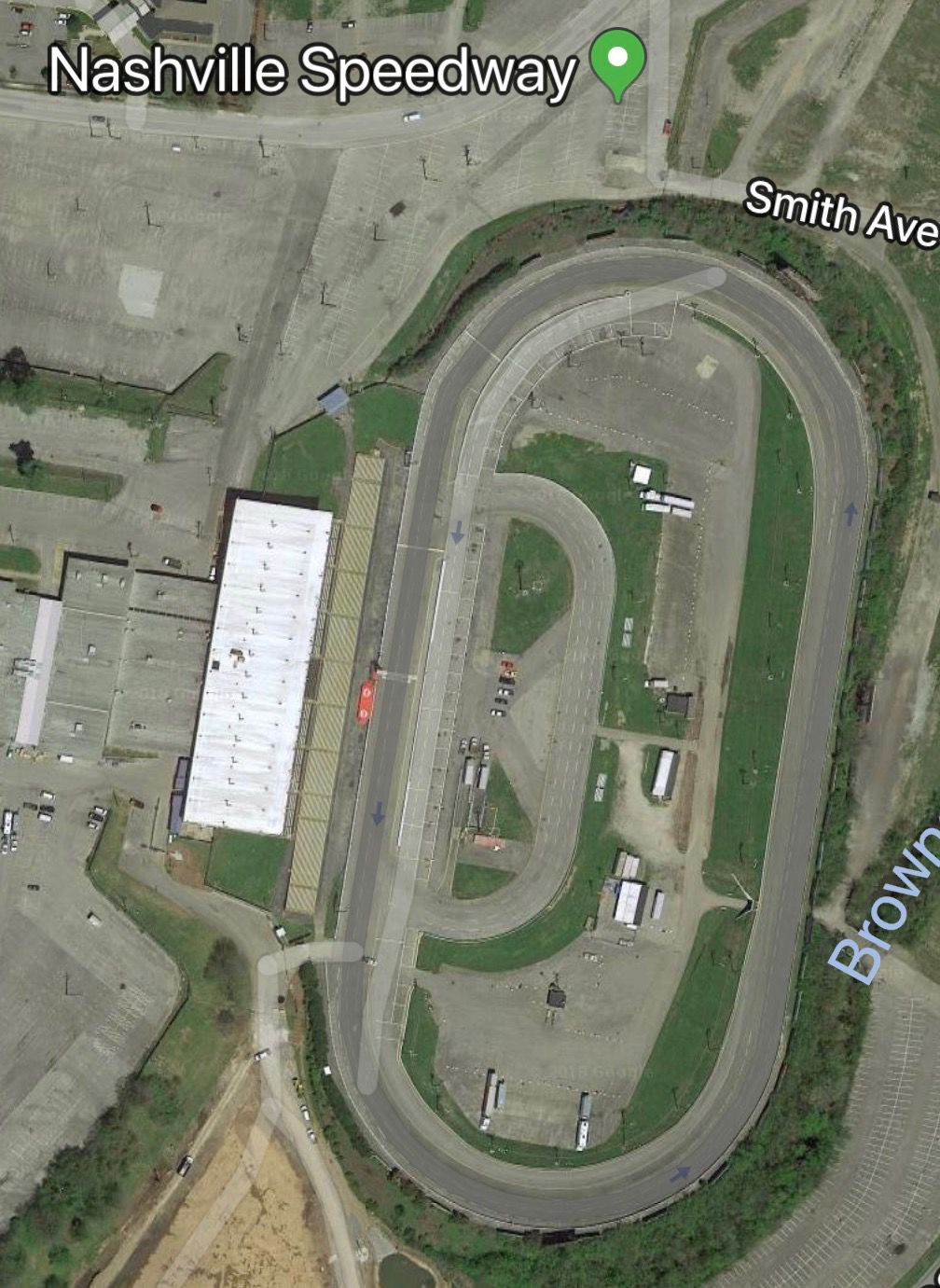 Speedway-google earth