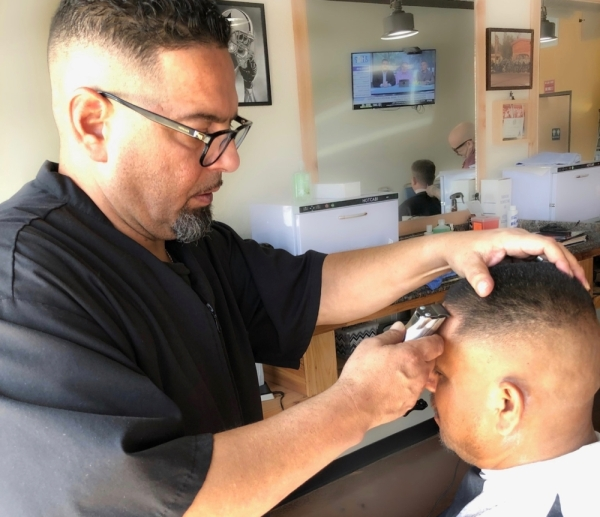 Johnny G's Barbershop opened in Buda in September.