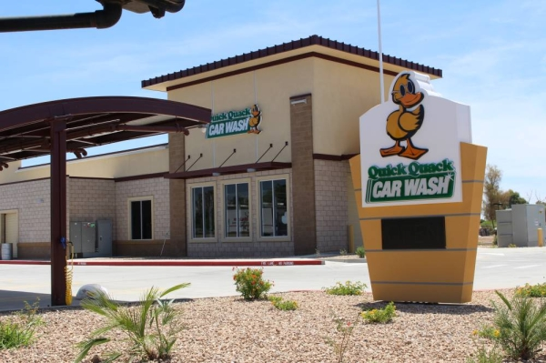 Quick Quack Car Wash has dozens of locations across Texas, Arizona, Colorado, California and Utah. (Tom Blodgett/Community Impact Newspaper)