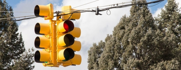 Traffic signals will be added at Lacey and Ezekiel roads.