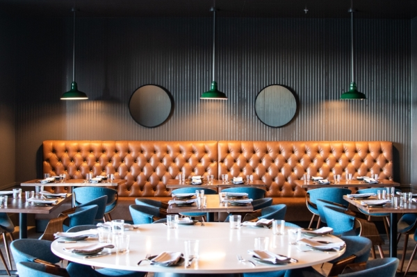 Upscale restaurant and sports bar Provision is now open in North Austin. The restaurant features midcentury modern decor. (Courtesy Resplendent Hospitality)