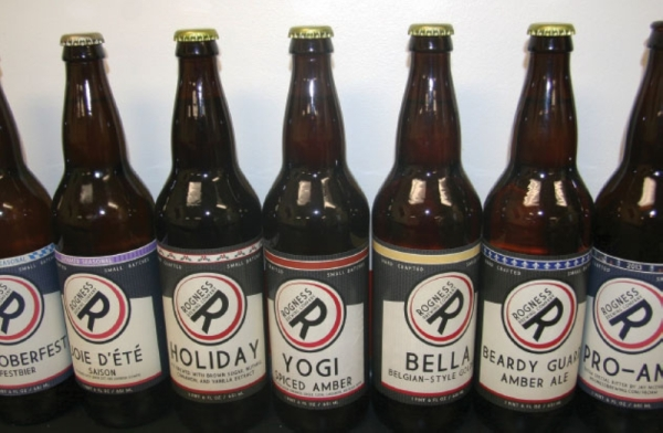 Rogness Brewing Co. serves various special and seasonal beers but currently offers 15 varieties on a regular basis. (Community Impact Staff)