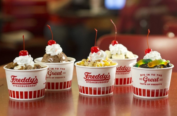 freddy's frozen custard, ice cream