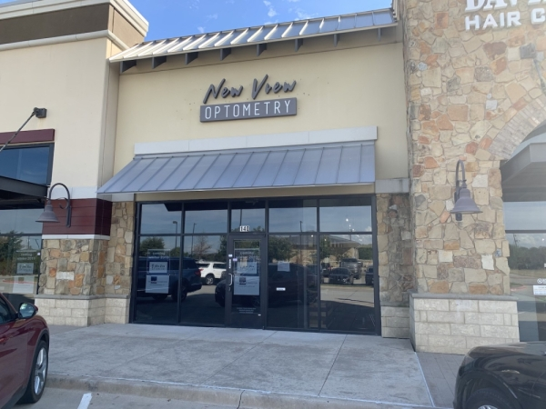 New View Optometry is expected to open in Flower Mound this winter.