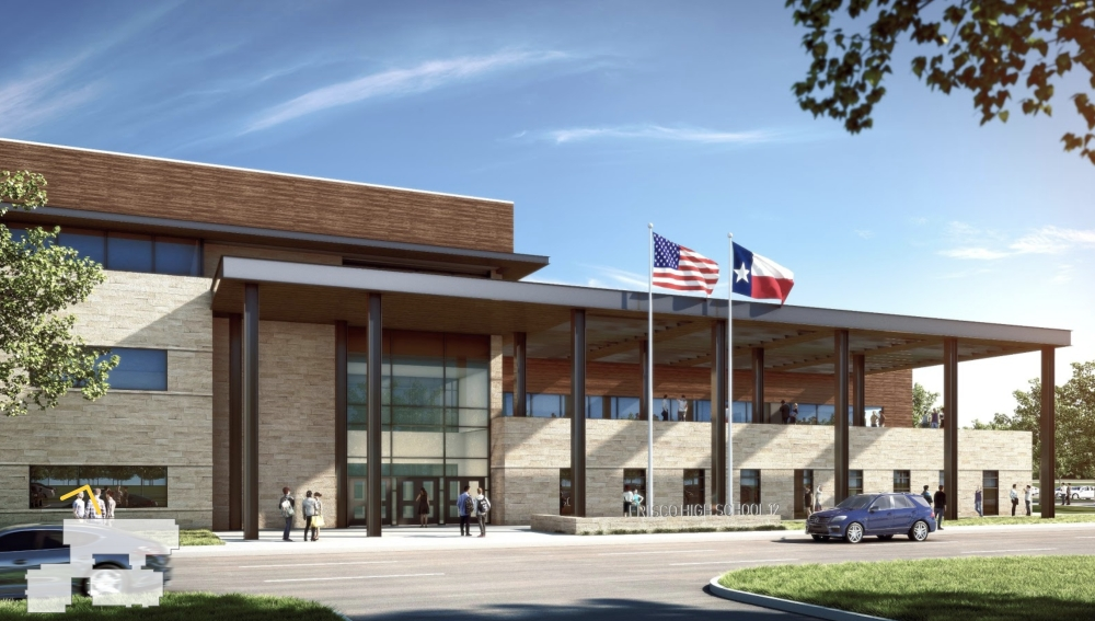 Frisco ISD High School No. 12 concept design