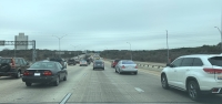 cars driving on mopac