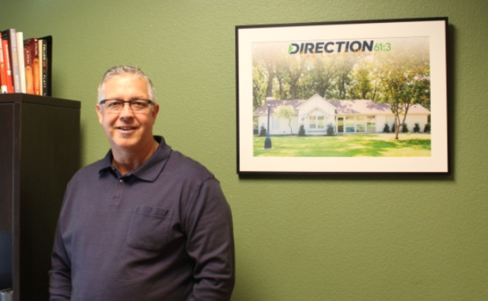 Myron Wilson is the executive director of Direction61:3 in McKinney. (Miranda Jaimes/Community Impact Newspaper)