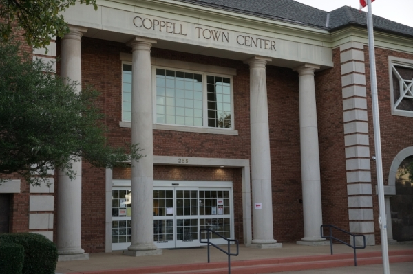 Coppell voters cast ballots in favor of the city's sales tax reauthorization. (Gavin Pugh/Community Impact Newspaper)