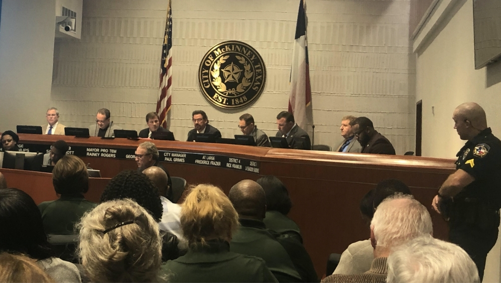 A heated discussion about recent racial concerns took place during a Nov. 5 McKinney City Council meeting. (Emily Davis/Community Impact Newspaper)