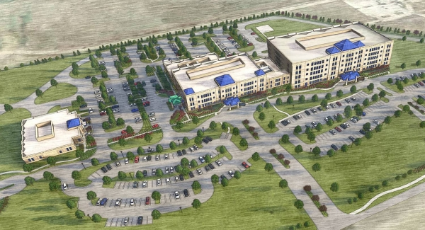 The Prosper location will be Cook Children's fourth medical center campus. (Rendering courtesy Cook Children's)