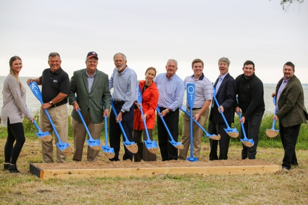 Galveston Bay Foundation Kemah groundbreaking