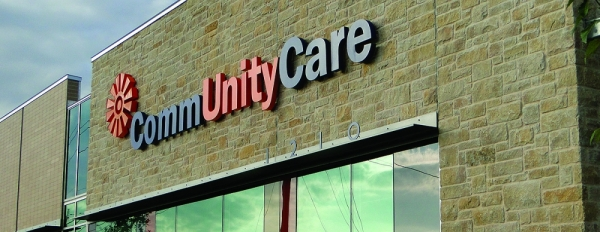 CommUnityCare sign