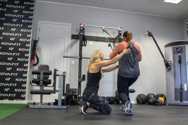 Owner Breana McCready works with individual clients and offers personal training in group settings. Photos by Ben Thompson/Community Impact Newspaper