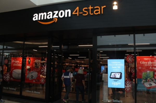 Amazon 4 Star Store Opens In Frisco S Stonebriar Centre