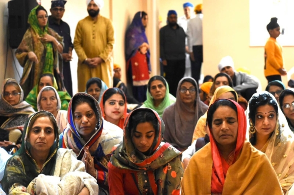 The Sikh temple will hold a prayer meeting from 11 a.m.-2 p.m. every Sunday, to be followed by langar. (Courtesy Eknoor Gurdwara)