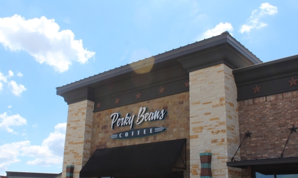 Perky Beans Coffee is now open in the Leander area. (Marisa Charpentier/Community Impact Newspaper)