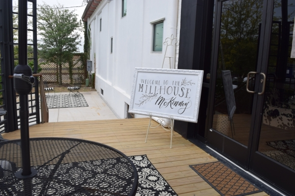 MillHouse opened at the McKinney Cotton Mill on Oct. 14. (Emily Davis/Community Impact Newspaper)