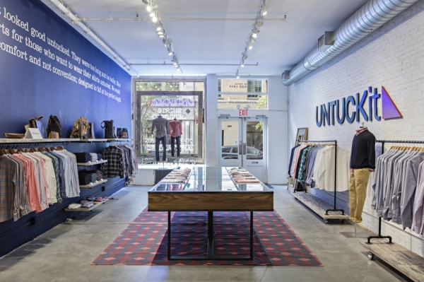 The Woodlands location of UNTUCKit is the retailer's 83rd nationwide. Courtesy UNTUCKit