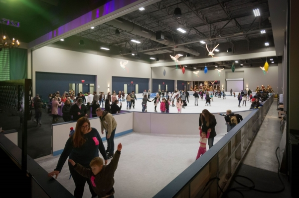 Nov. 16 Kick off ice skating season Courtesy The Woodlands Township