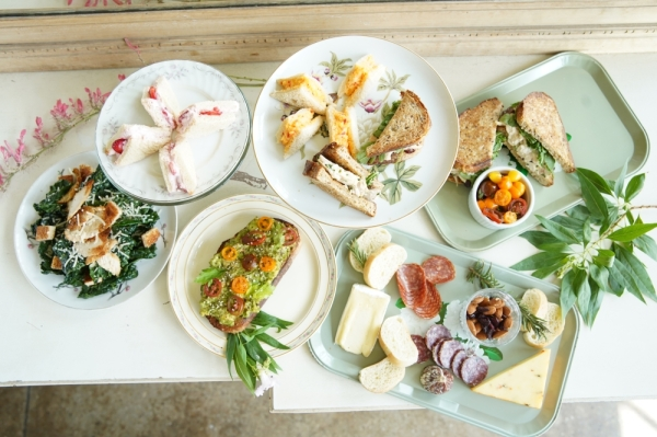 Heirloom Haul offers breakfast, lunch, shared plates and tea service. (Courtesy Heirloom Haul)