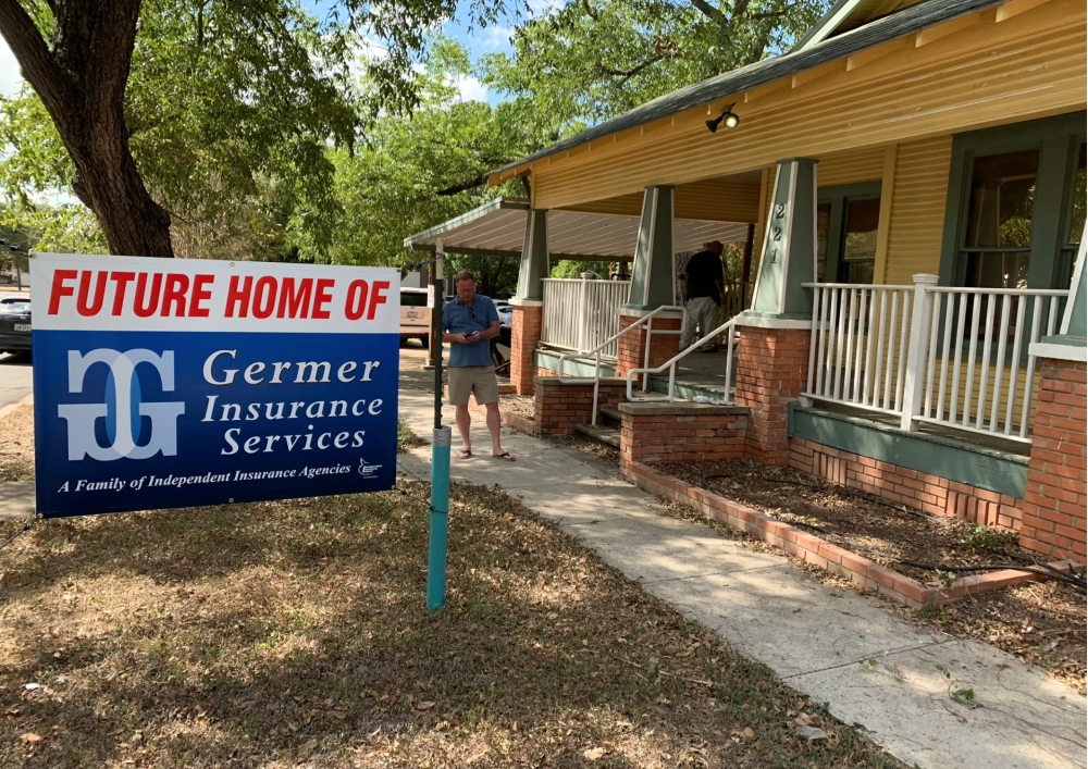 Future location for Germer Insurance Services in San Marcos