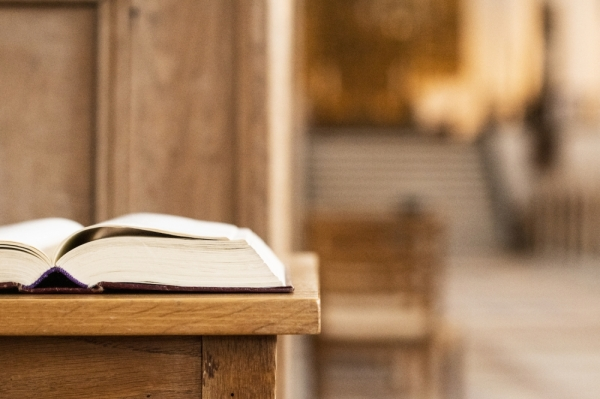 church pew bible