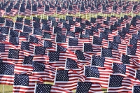 Field of Honor is a nine-day event that honors veterans and first responders. (Courtesy Field of Honor)