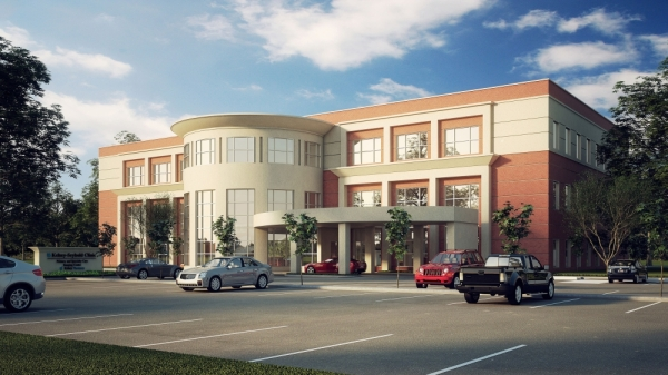 rendering of Kelsey-Seybold Pearland clinic