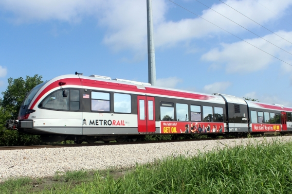 The city of Austin could work with Capital Metro to look into public financing options to help fund new MetroRail stations at the new Austin FC soccer stadium at McKalla Place and at the Broadmoor Campus in North Austin. (Amy Denney/Community Impact Newspaper)