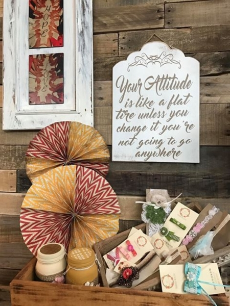 The store offers crafts, gifts, home decor items and sports memorabilia. (Courtesy Spring Trading Post)