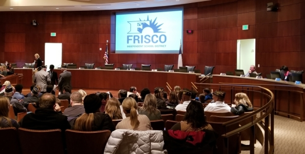 frisco isd board meeting