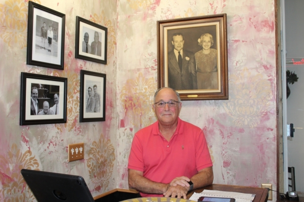 Mike Salerno and his cousin, Morris, opened Salerno's Italian Restaurant in 1985. (Photo by Anna Herod/Community Impact Newspaper)