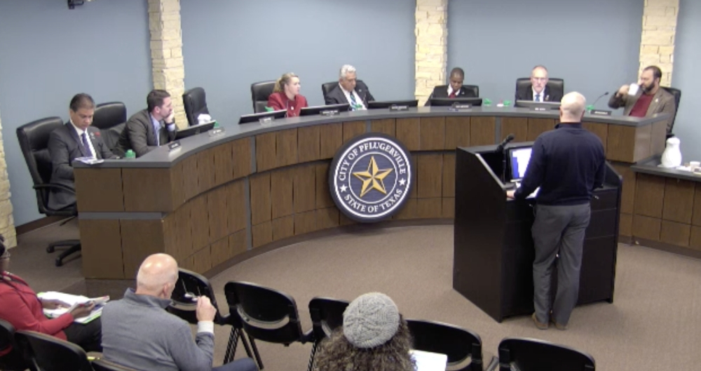 Pflugerville City Council approved a final ordinance reading on an amendment to the city's public camping ordinance. (Courtesy city of Pflugerville)