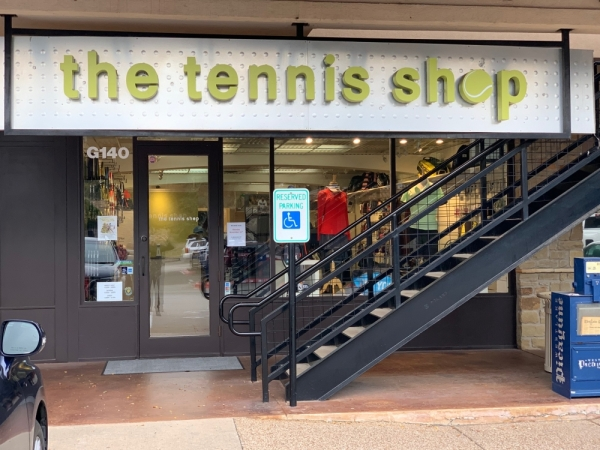 West Lake Hills' The Tennis Shop welcomed a new owner Nov. 1. (Courtesy Macon Schoonmaker)