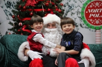 Grapevine Mills features a seasonal Santa's village that will provide photo sessions with Saint Nick. (Community Impact Newspaper file photo)