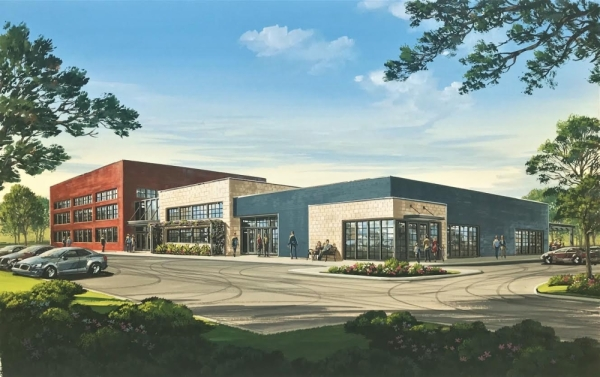 Infinity Realty Partners and Brahma Title & Escrow expect to open a new corporate headquarters at 299 E. Eldorado Parkway, McKinney in spring 2020. (Rendering courtesy Craig Anderson)
