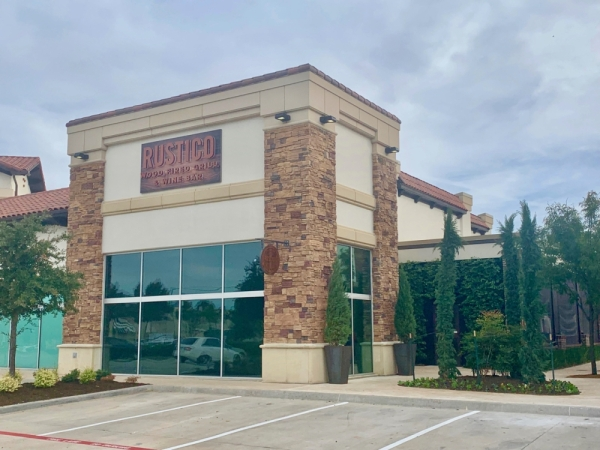 Rustico Grill opened on Justin Road in Flower Mound. (Brian Pardue/Community Impact Newspaper)