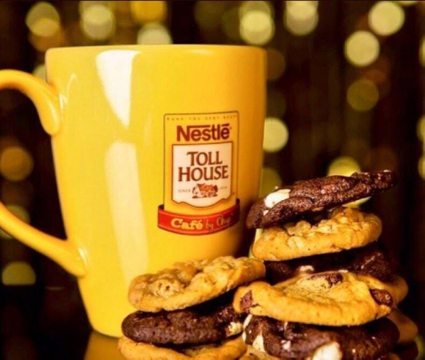 Nestle Tollhouse locations feature coffee drinks and bakery items. (Courtesy Nestle Tollhouse)