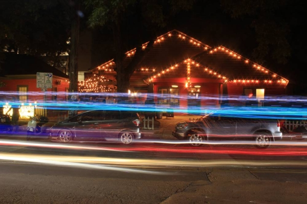 Austin's Rainey Street District has become one of the most popular entertainment districts in the city.