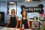 Co-owners Sara Saber, left, and Carin Giga opened Three Dog Bakery in Rice Village in September 2018. (Alex Hosey/Community Impact Newspaper)