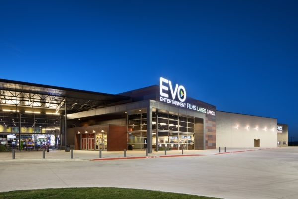 EVO's Kyle location opened in November 2014. (Courtesy EVO Entertainment)