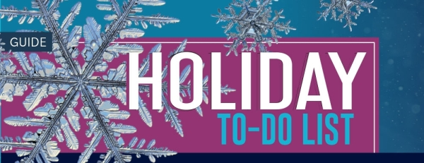 Holiday to-do list (Designed by Kara Nordstrom/Community Impact Newspaper)