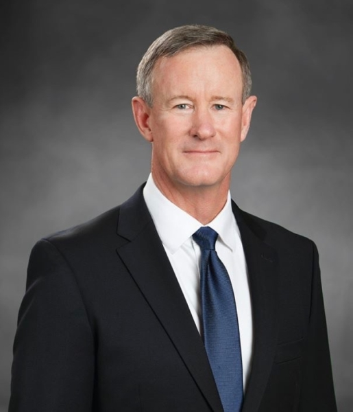 Admiral William H. McRaven is a New York Times best selling author. (Courtesy City of New Braunfels)