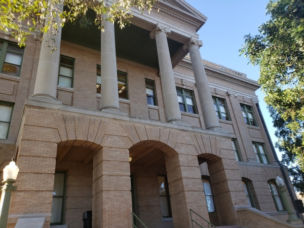 The Williamson County Courthouse is located at 710 S. Main St., Georgetown.
