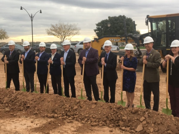 Developer has groundbreaking for Verde at Cooley Station