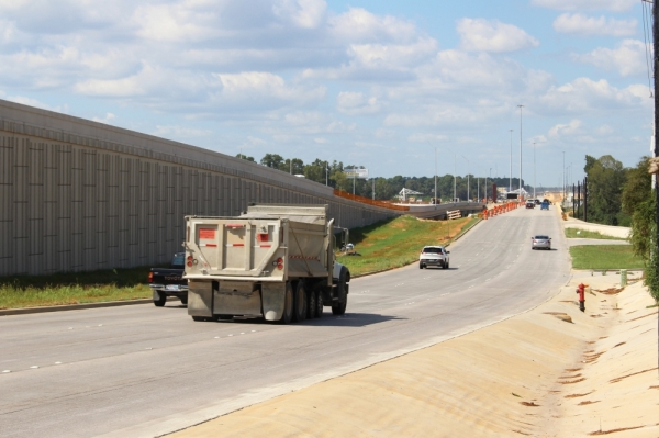 A closure of northbound lanes is set for Sunday, Nov. 24, in Pinehurst. (Anna Lotz/Community Impact Newspaper)