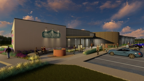 Spare Birdie Public House is scheduled to open in Cedar Park in late 2020. (Courtesy Spare Birdie Public House)