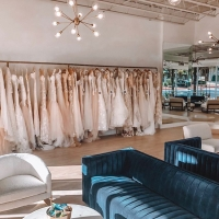 The Blushing Bride Boutique officially opened Nov. 12 in Westlake's Davenport Village. (Courtesy The Blushing Bride Boutique)